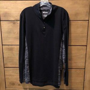 Black & Gray Athletic Shirt